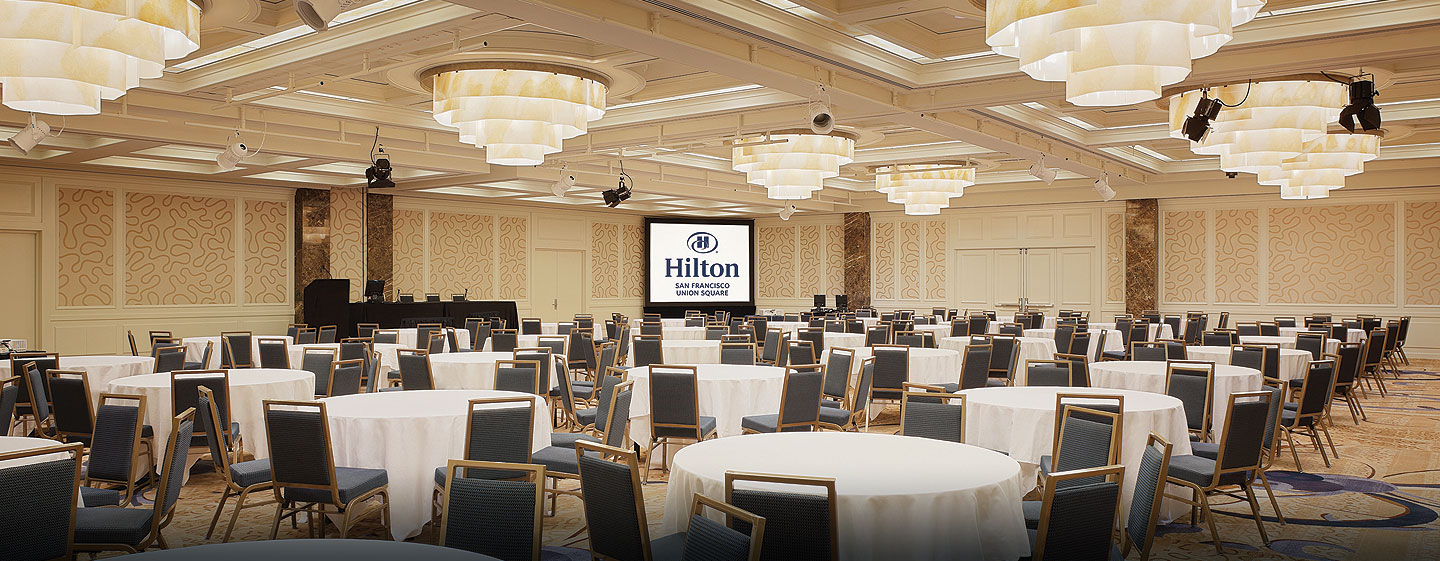 Hilton San Francisco Union Square Hotel – Balsal Imperial