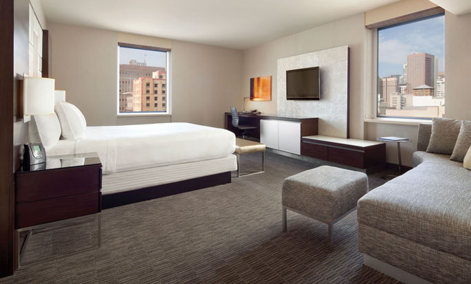 Hilton San Francisco Union Square hotel - King Junior Suite