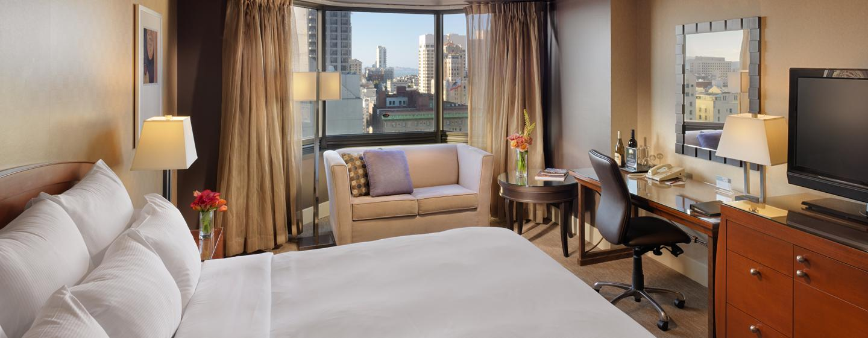 Parc 55 San Francisco - een Hilton Hotel, USA- King kamer