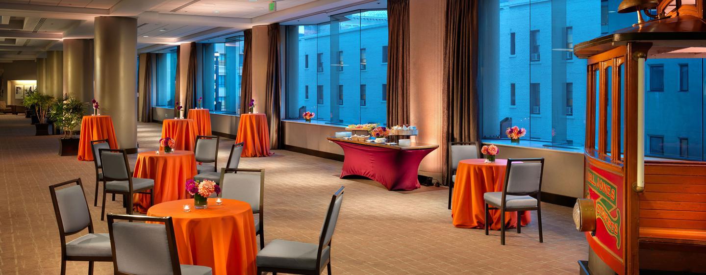 Parc 55 San Francisco - een Hilton Hotel, USA- Foyer Cyril Magnin