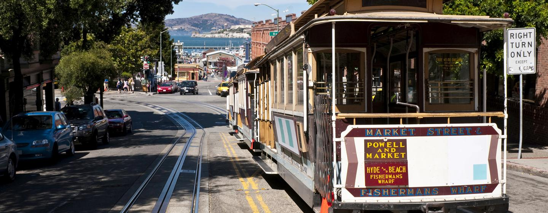 Parc 55 San Francisco - een Hilton Hotel, USA - De beroemde Cable Cars van San Francisco