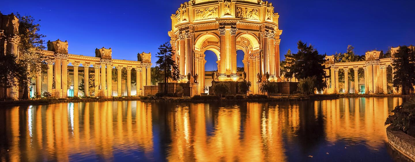 Parc 55 San Francisco - een Hilton Hotel, USA - Palace of Fine Arts