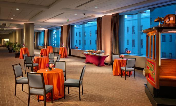 Parc 55 San Francisco - een Hilton Hotel, USA- Foyer Cyril