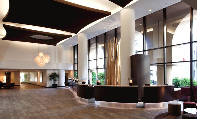 Parc 55 San Francisco - een Hilton Hotel, USA - Hotellobby