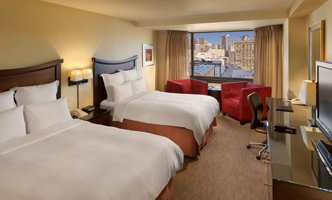 Parc 55 San Francisco - een Hilton Hotel, USA- Dubbele kamer Deluxe