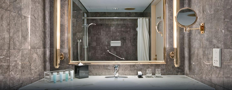 Unsere schönen Badezimmer sind barrierefrei