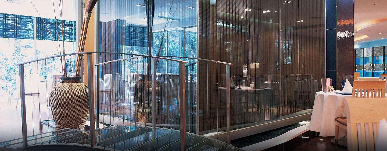 Das Hilton Shanghai verfügt über acht Restaurants und Bars