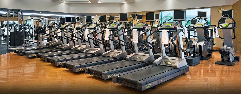Ihrem Training können Sie im Fitness Center nachgehen