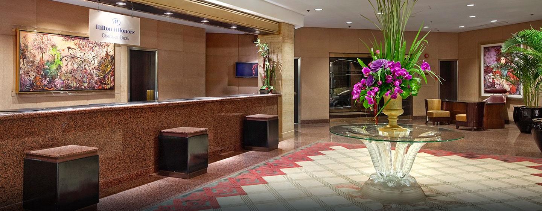 Herzlich Willkommen im Hilton Shanghai Hotel