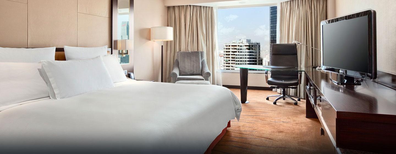 Entspannen Sie im Executive Zimmer mit Zugang zur Executive Lounge des Hotels