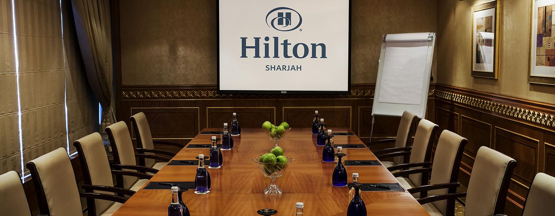 Im Hilton Sharjah stellen wir Ihre Veranstaltung in den Mittelpunkt Ihrer Bemühungen
