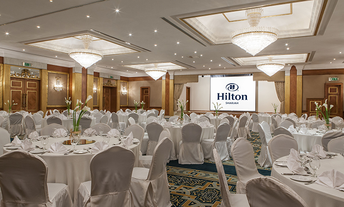 Hilton Sharjah Hotel, UAE - Banquet