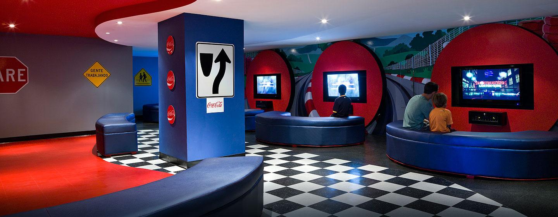 Hotel Caribe Hilton - Sala de juegos
