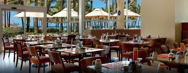 Hotel Caribe Hilton - Área de café