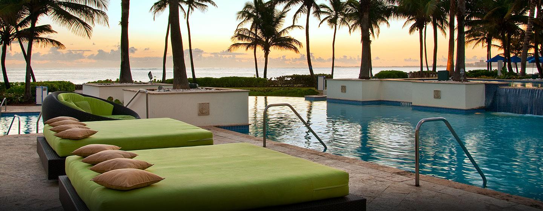 Hotel Caribe Hilton - Piscina al aire libre