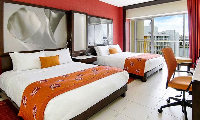 Hôtel The Condado Plaza Hilton - Chambre avec deux lits