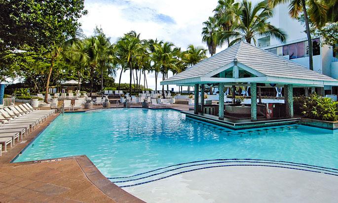 Hôtel The Condado Plaza Hilton - Piscine