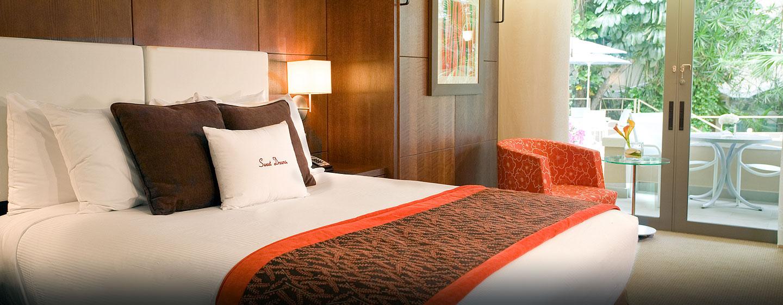 Hotel DoubleTree by Hilton San Juan, Puerto Rico - Habitación con cama Queen tipo Murphy