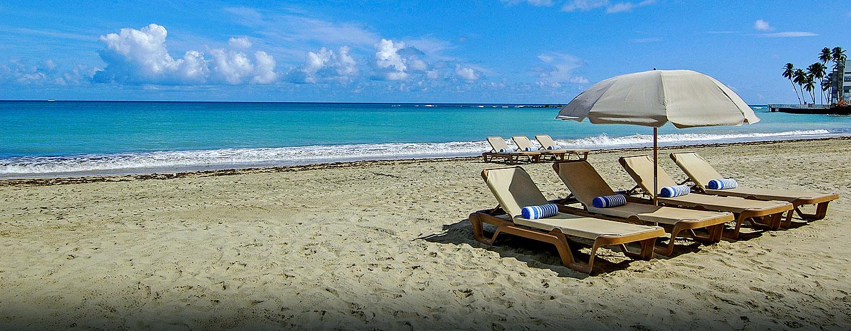 El San Juan Resort & Casino, a Hilton hotel, Carolina, Puerto Rico - Hermosa playa de Isla Verde