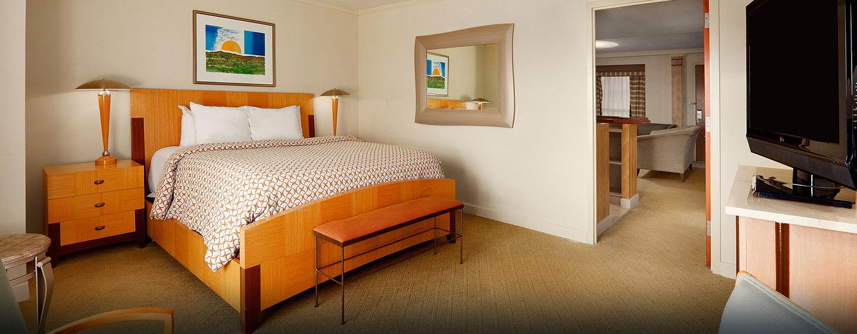 Hotel Embassy Suites San Juan - Hotel & Casino, Puerto Rico - Dormitorio de la suite presidencial
