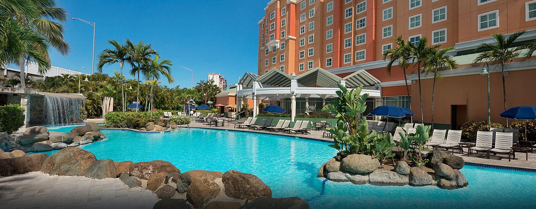 Hotel Embassy Suites San Juan - Hotel & Casino, Puerto Rico - Piscina al aire libre