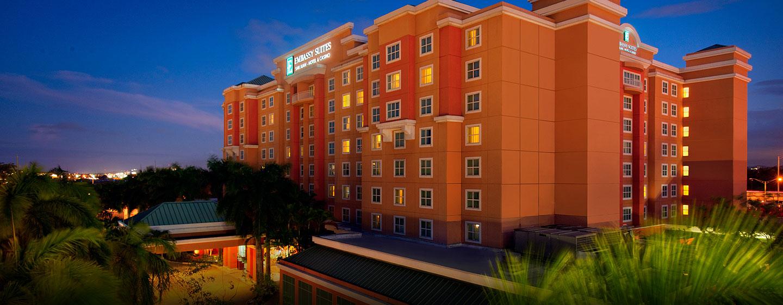 Hotel Embassy Suites San Juan - Hotel & Casino, Puerto Rico - Fachada del hotel