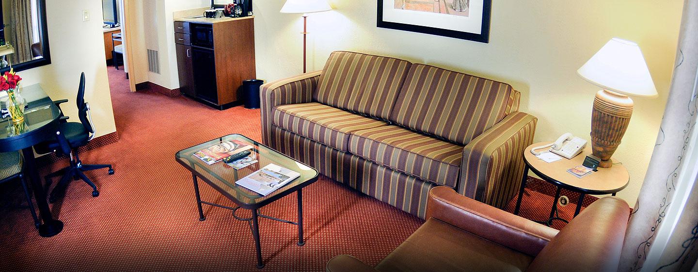 Hotel Embassy Suites San Juan - Hotel & Casino, Puerto Rico - Sala de estar de la suite