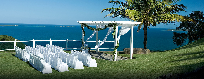 Lugares de la boda en el exterior