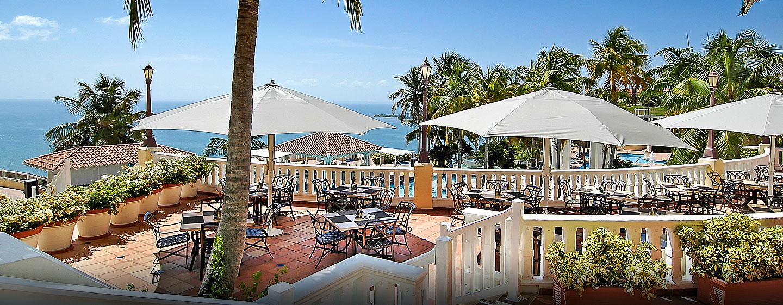 El Conquistador, un resort de Waldorf Astoria, Fajardo, Puerto Rico - Café Bella Vista