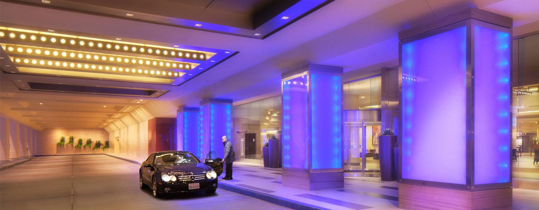 Hilton Anaheim, Califórnia - Entrada do hotel