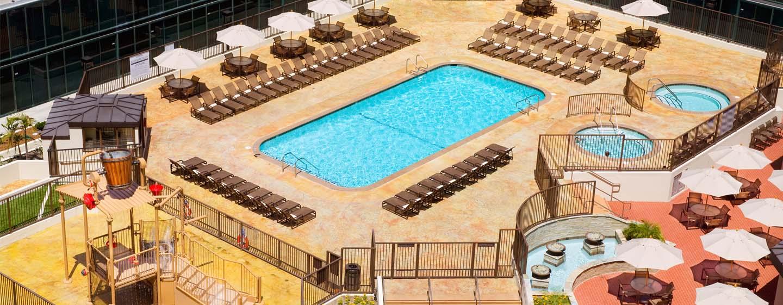 Hilton Anaheim, Califórnia - Piscina