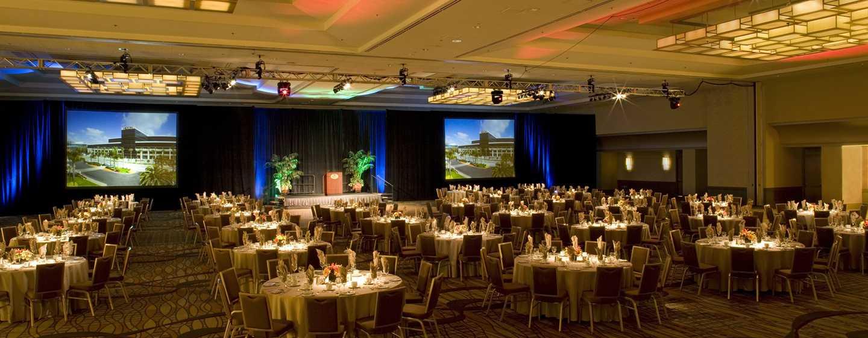 Hilton Anaheim, Califórnia - Salão de festas