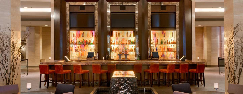 Hôtel Hilton Anaheim Californie Bar Du Hall