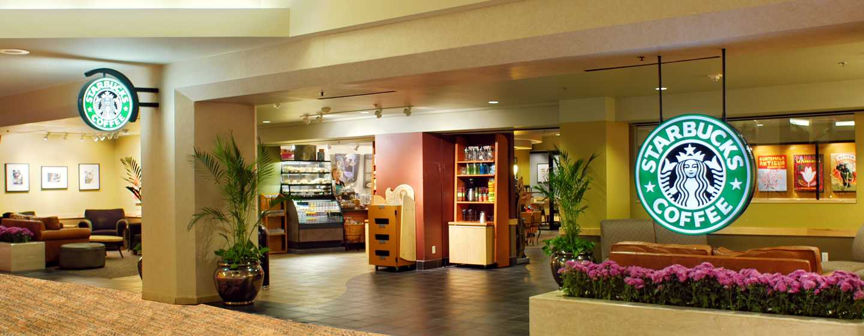 Hilton Anaheim, Califórnia - Starbucks