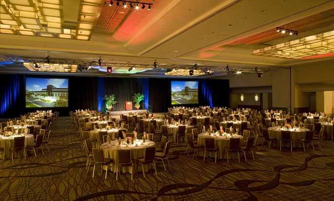 Hôtel Hilton Anaheim, Californie - Configuration salle de réception