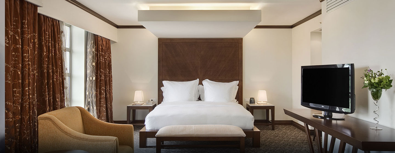 Hotel Hilton Malabo, Guinea Ecuatorial - Suite presidencial con cama King