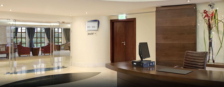 Hotel Hilton Malabo, Guinea Ecuatorial - Sala de negocios