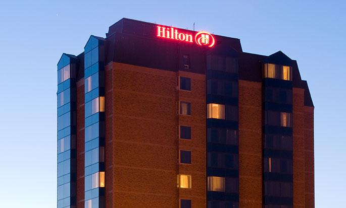 Hôtel Hilton Saint John, NB, Canada - Extérieur de l'hôtel