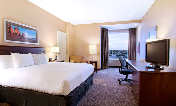 Hôtel Hilton Saint John, NB, Canada - Chambre de l'étage Club