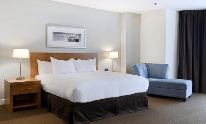 Hôtel Hilton Saint John, NB, Canada - Suite junior avec très grand lit