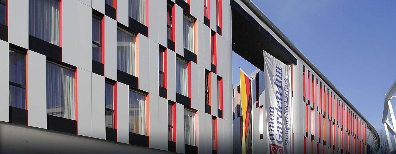 Das moderne 3-Sterne Hotel im NeckarPark in Stuttgart läd Sie ein