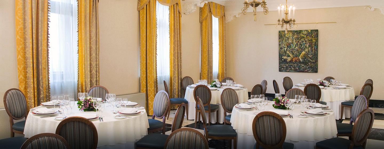 Die Räumlichkeiten des Hotels stehen Ihnen auch für private Diners zur Verfügung