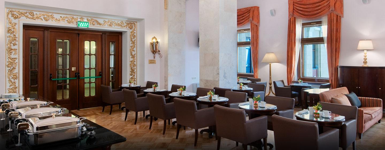 Gäste der Execuitive Zimmer und Suiten haben Zugang zur schönen Executive Lounge des Hotels