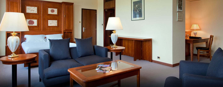 Hôtel Hilton Strasbourg, France - Suite junior avec grand lit