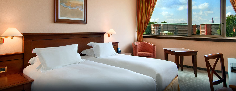 Hôtel Hilton Strasbourg, France - Chambre avec lits jumeaux