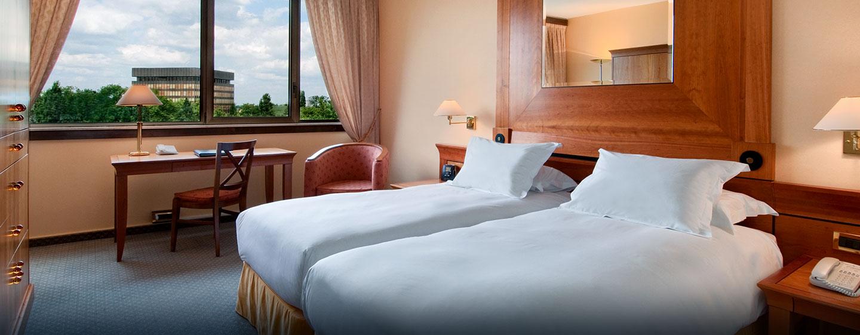Hôtel Hilton Strasbourg, France - Chambre de luxe avec lits jumeaux