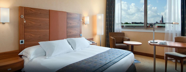 Hôtel Hilton Strasbourg, France - Chambre exécutive avec très grand lit