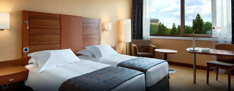 Hôtel Hilton Strasbourg, France - Chambre exécutive avec lits jumeaux