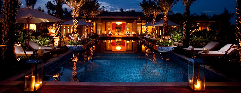 Genießen Sie Luxus pur in der Präsidenten Suite auf Chinas Insel Hainan