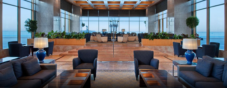 Hilton Tel Aviv Hotel, Israel – Sitzbereich in der Lobby